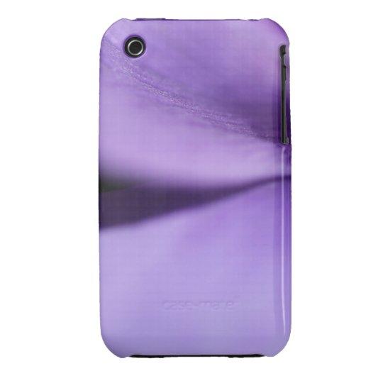 Pétalos púrpuras macros funda bareyly there para iPhone 3 de Case-Mate