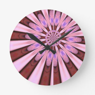 Pétalos rosados de la flor del arte de las sandali relojes