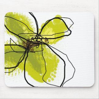 Pétalos verdes - cojín de ratón alfombrillas de ratones
