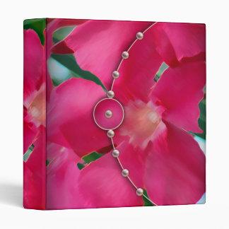 Pétalos y perlas rosados