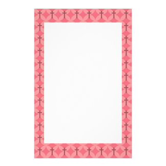 Petals and Crosses Stationery