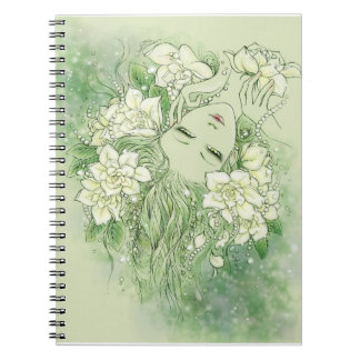 Petals and Pearls Notebook