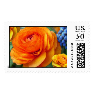 Petals and Puffs Postage