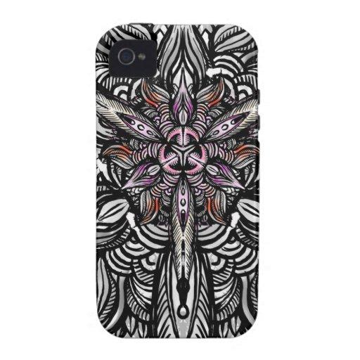 Petals Exp01 iPhone 4 Cases