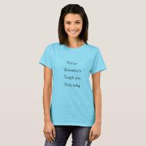 Petals & Feather & Corduroy t shirt