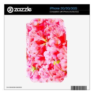 Petals Flower Rose Pink Love Soft Gift Wonderful G Skins For iPhone 3G