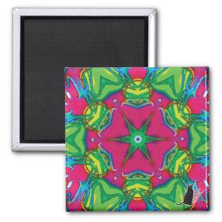 Petals Kaleidoscope Magnet