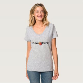 Petals & Thorns V-Neck T-Shirt