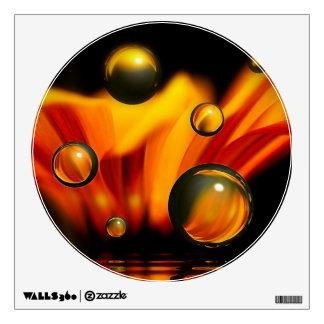 Petals'n'Spheres II Wall Sticker