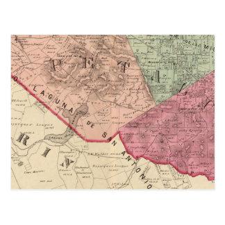 Petaluma and Vallejo Townships Postcard