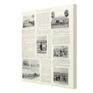Petaluma Businesses, California Canvas Prints