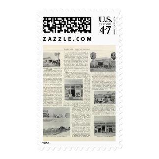Petaluma Businesses, California Postage Stamp
