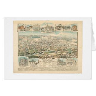 Petaluma, CA. (1314A) Card
