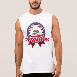 Petaluma CA Camisetas Sin Mangas