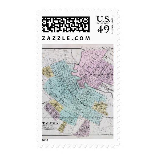 Petaluma, California 2 Sello Postal