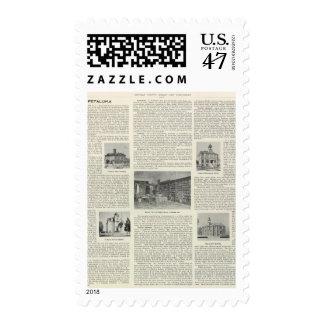 Petaluma, California Postage Stamp