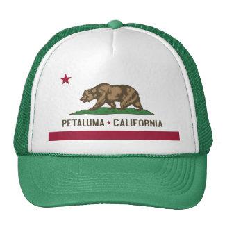 Petaluma: Flag Of  California Cap Trucker Hat
