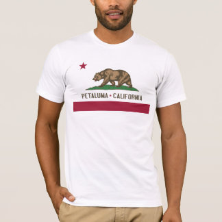 Petaluma: Flag of California Tee