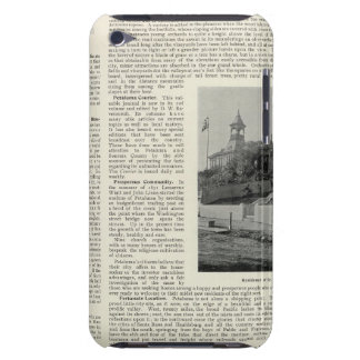 Petaluma Residences, California iPod Touch Case