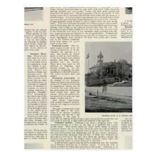 Petaluma Residences, California Postcard