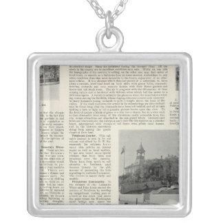 Petaluma Residences, California Silver Plated Necklace
