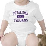 Petaluma - Trojan - alto - Petaluma California Trajes De Bebé