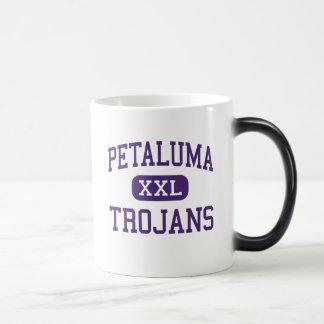Petaluma - Trojans - High - Petaluma California 11 Oz Magic Heat Color-Changing Coffee Mug