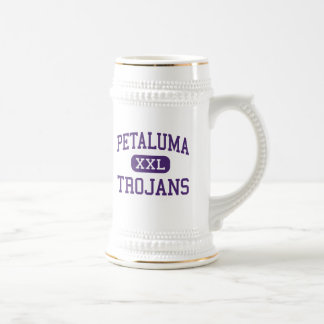 Petaluma - Trojans - High - Petaluma California 18 Oz Beer Stein
