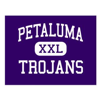 Petaluma - Trojans - High - Petaluma California Postcard