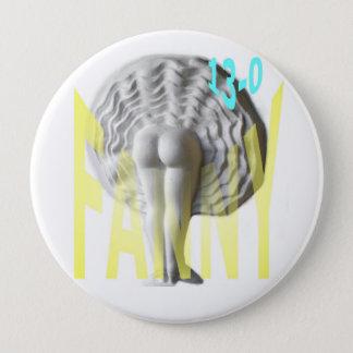 Petanque Fanny Pinback Button