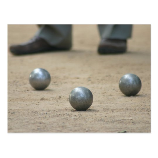 Petanque in Provence Postcard