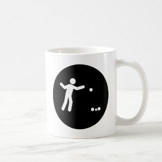 Petanque Classic White Coffee Mug