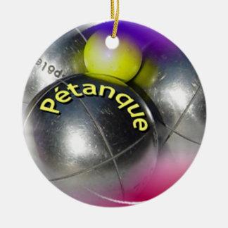Petanque Ornament