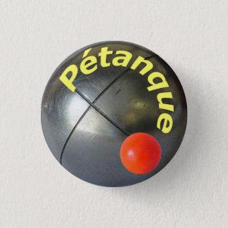"""Petanque Pin/ Button 1""""1/4"""