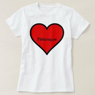 """Petanque T-Shirt """"Heart"""""""