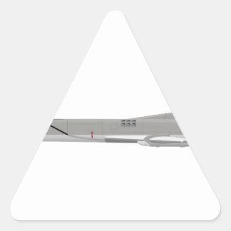 Petardeo de Tu-22M Pegatina Triangular