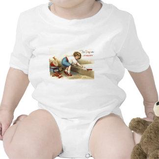 Petardo de los fuegos artificiales del bugle del t traje de bebé