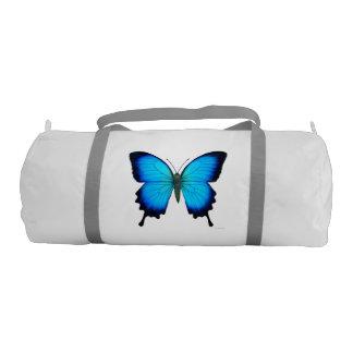 Petate azul de la mariposa de Ulises Bolsa De Deporte
