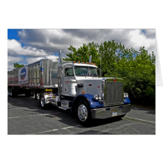 Pete 359 Single Axle Note Card