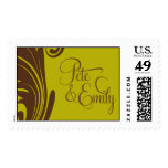 Pete and Emily Monogram stamp