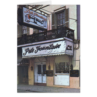 Pete Fountain s Club New Orleans Cards
