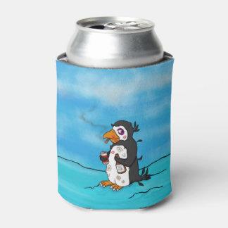 Pete fruncido, neverita de bebidas enfriador de latas