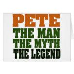 Pete - la leyenda tarjeton