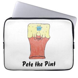 Pete la manga del ordenador portátil de la pinta mangas portátiles