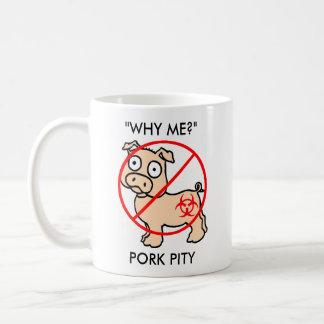 Pete pandémico, compasión del cerdo taza