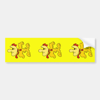 Pete Plookooper Character Bumper Stickers