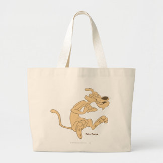 Pete Puma Excited Large Tote Bag
