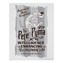 Pete Puma Intelligence Elixer Poster