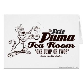 Pete Puma Tea Room 2 Card