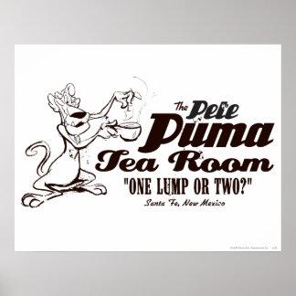 Pete Puma Tea Room 2 Posters